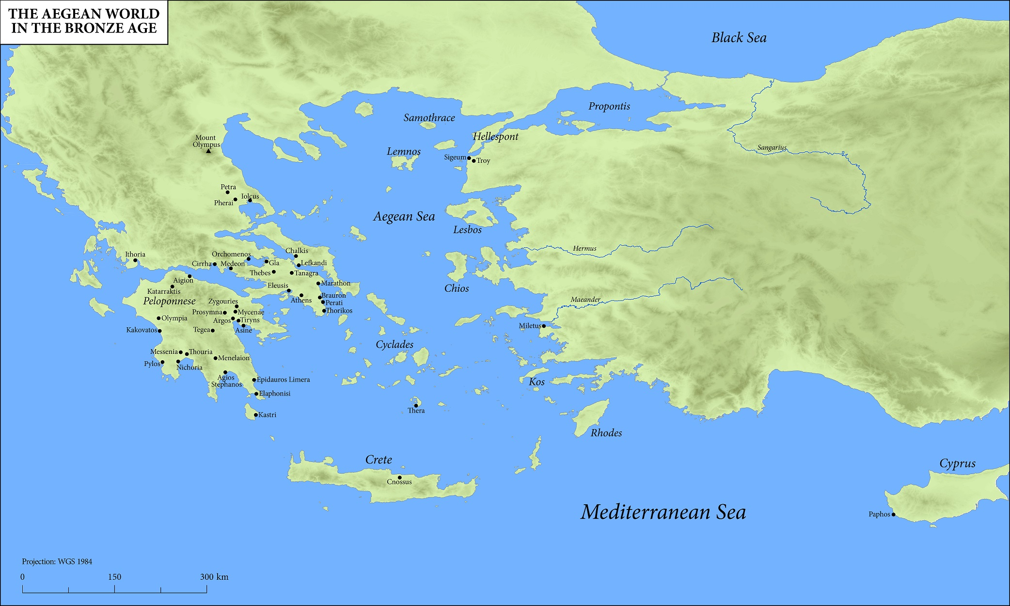 Maps of the ancient world oxford classical dictionary the aegean world in the bronze age gumiabroncs