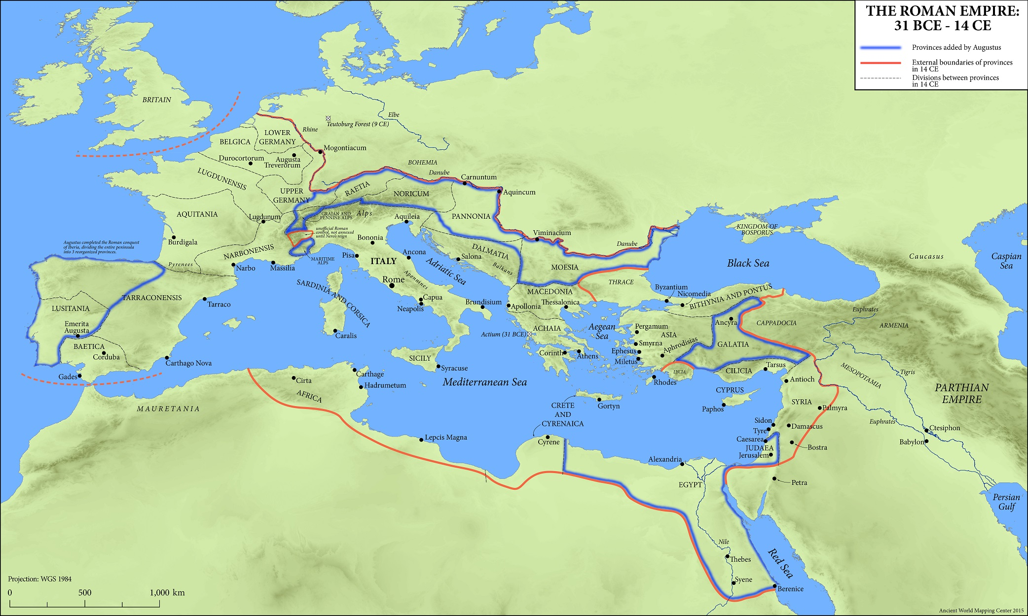 Maps of the ancient world oxford classical dictionary the reign of augustus gumiabroncs Choice Image
